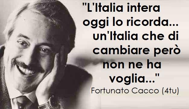 Anniversario Strage Di Capaci 25 Anni Giovanni Falcone Le Piu